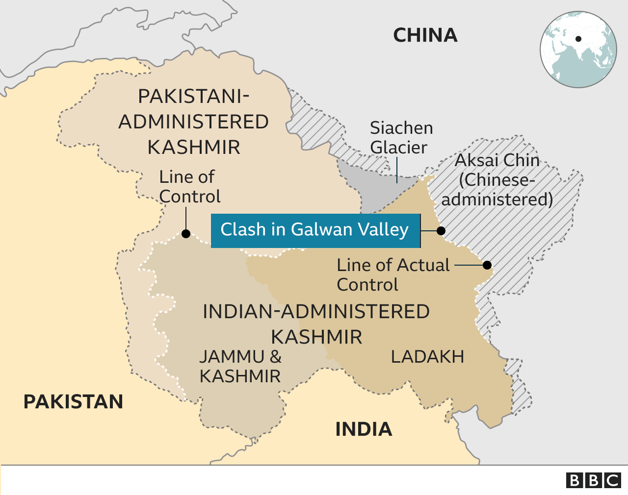 India Confirms 20 Soldiers Killed In Border Clash With Chinese Forces; Reports Of 43 PLA Casualties
