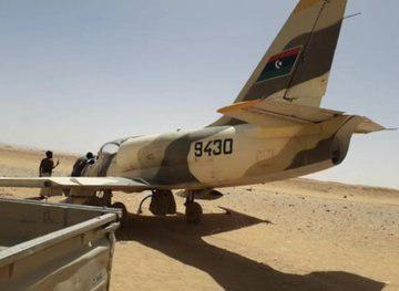 L-39 Military Aircraft Of Libyan National Army Made Emergency Landing On Border (Video, Photos)