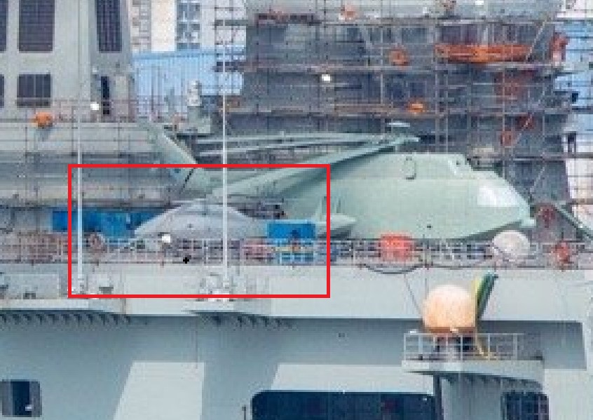 New Helicopter Drone Spotted On Deck Of Type 075 Landing Helicopter Dock (Photo)
