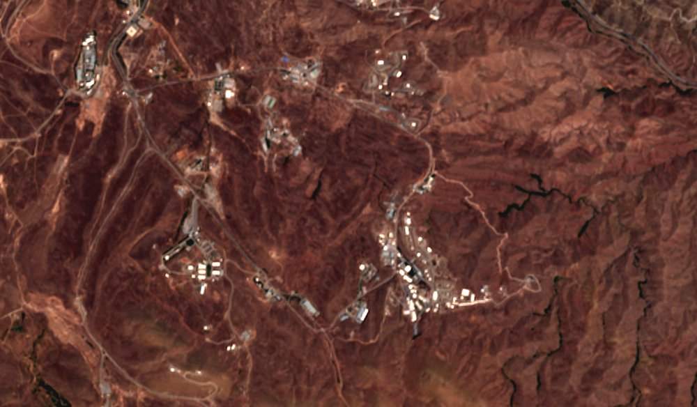 Satellite Images Show Impact Of Large Blast At Suspected Missile Site In Iran