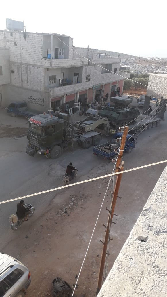 In Photos: Turkish Army Deploys Additional Atılgan Air Defense Systems In Idlib