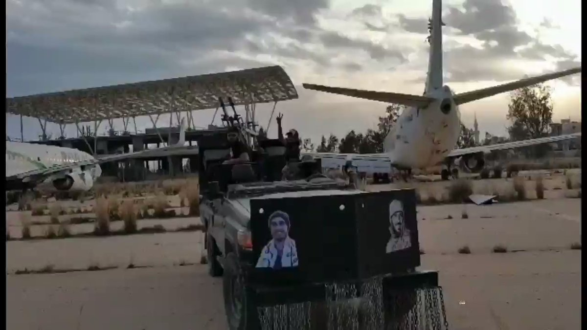 GNA Captured Tripoli International Airport, As Haftar Requests More Tangible Support From Egypt