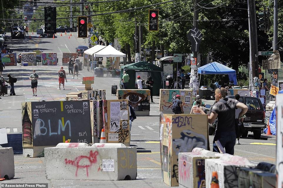 Protesters Attempt To Tear Down Andrew Jackson Statue, Establish Autonomous Zone In Washington