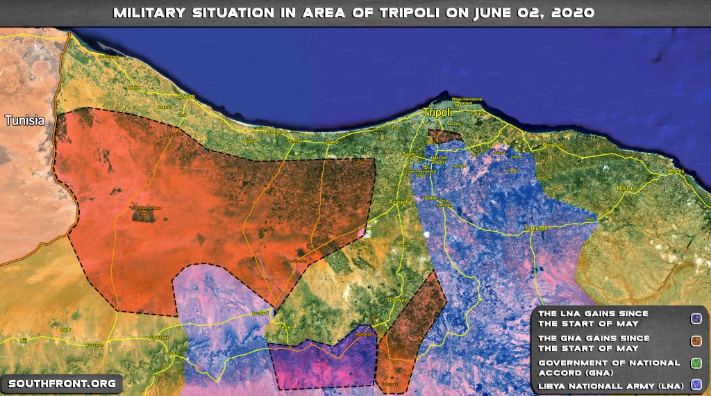 Gains And Setbacks Of Libyan National Army In Northwestern Libya Since May 1, 2020 (Map Update)