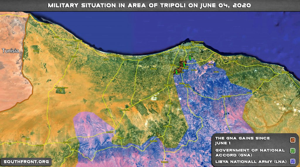 In Maps: Military Situation In Libya Following Recent Advances By Turkish-led Forces