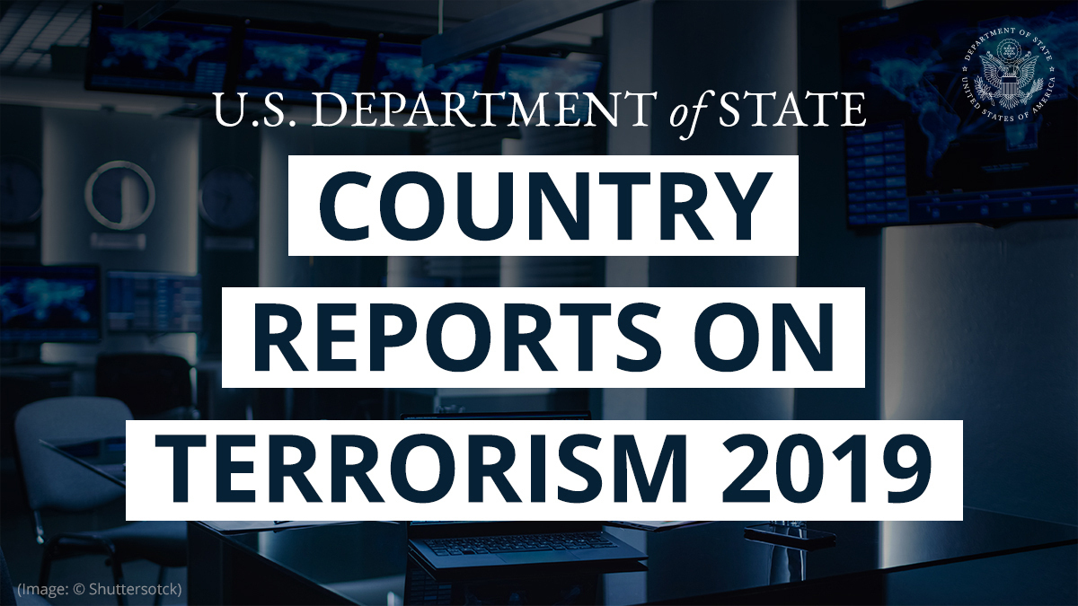 U.S. Releases Country Reports On Terrorism 2019: Almost Entirely Focused On Iran