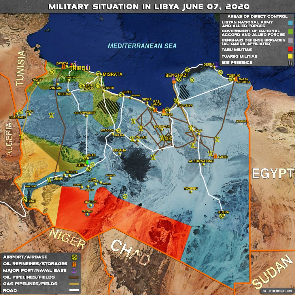 Military Situation In Libya On June 7, 2020 (Map Update)