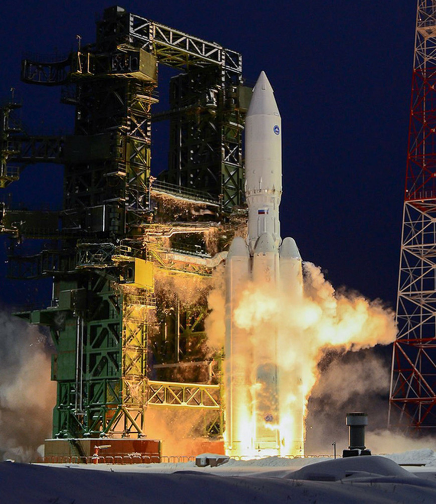 Russia Orders 5 Angara-A5 Heavy Space Launch Vehicles
