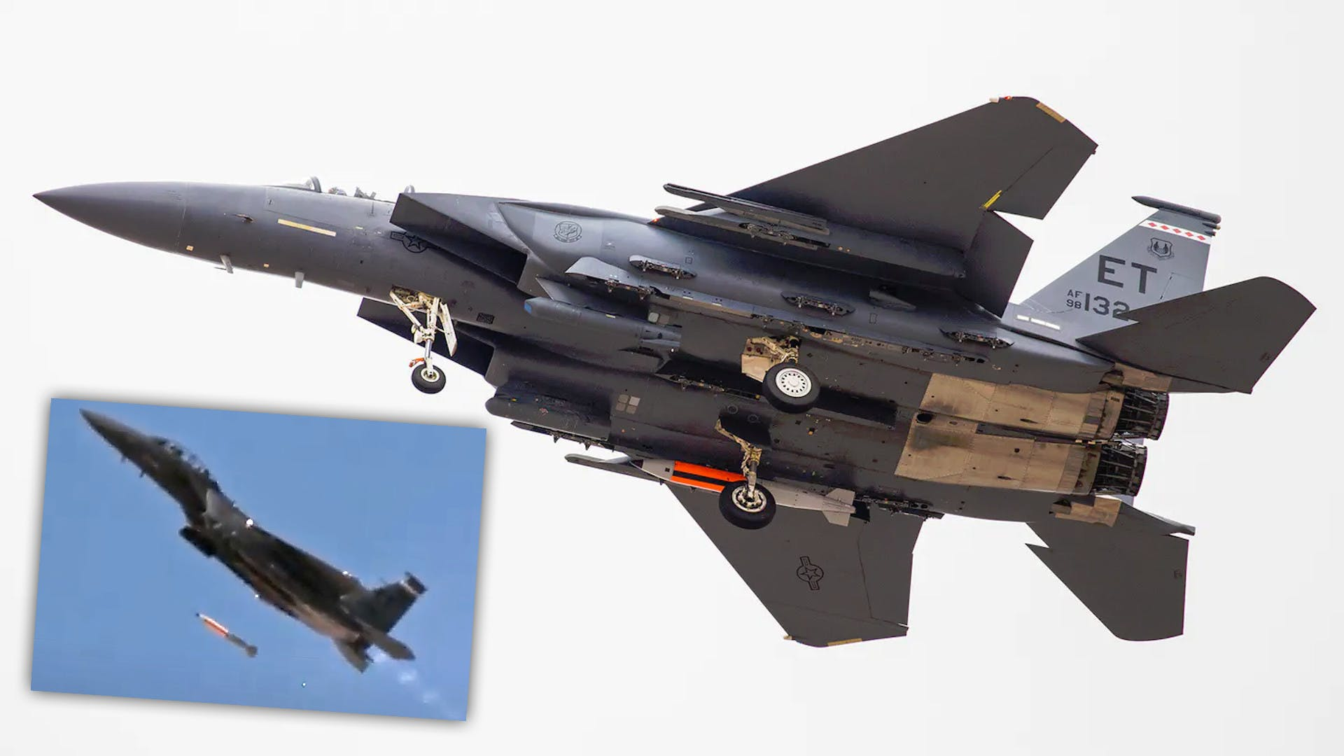U.S. Successfully Tests Its New B61-12 Nuclear Gravity Bomb On F-15E Strike Eagle Jet