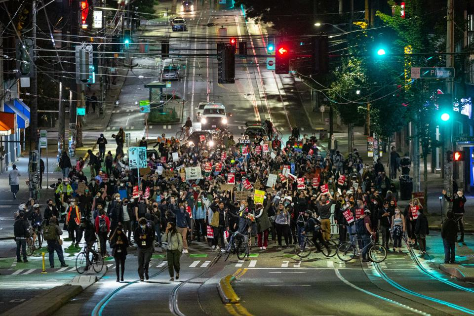 Less Violence And More Changes While U.S. Protests Continue