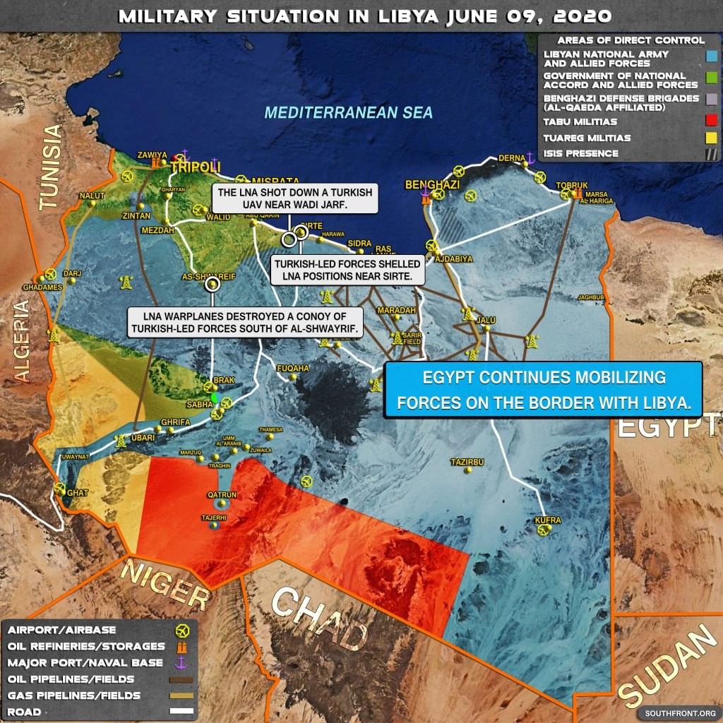 Military Situation In Libya On June 9, 2020 (Map Update)