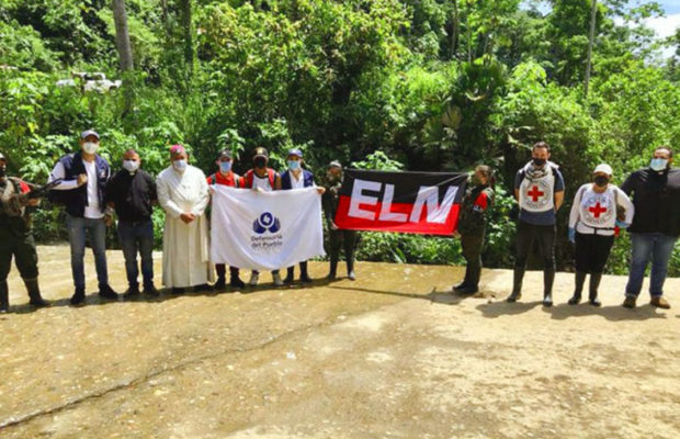 Colombia: ELN Releases Seven Prisoners, Including Four Police, On Humanitarian Grounds