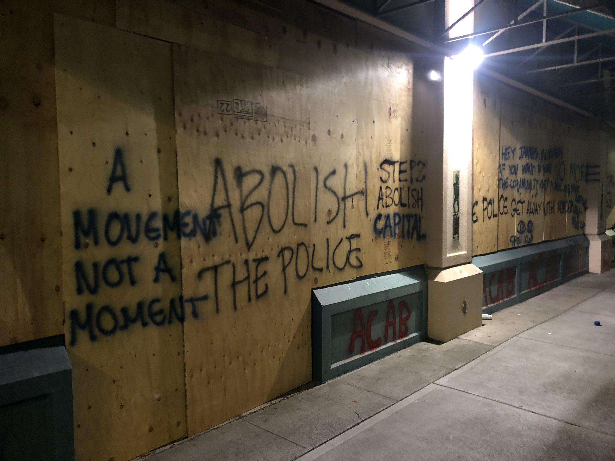 """Police State War Zone"" In Portland"