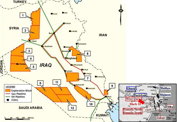Russia's Massive Oil Projects In Iraq