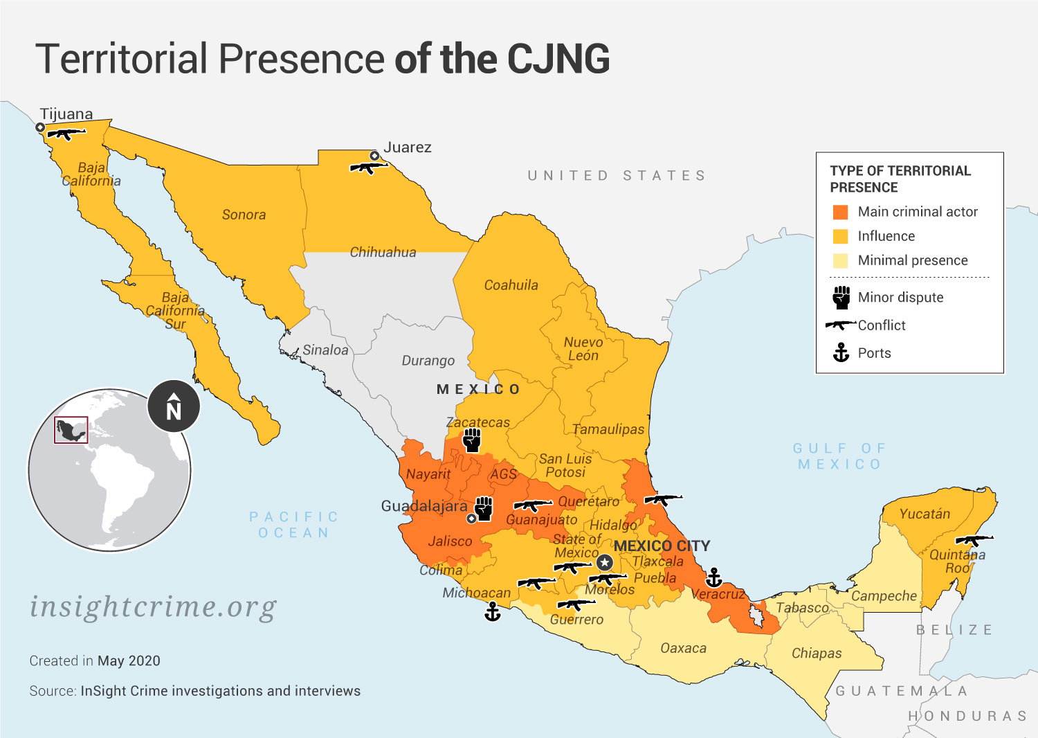 """Mexican Cartel CJNG Releases Statement Saying """"State Cartel"""" Is Behind Killings In Some Provinces"""