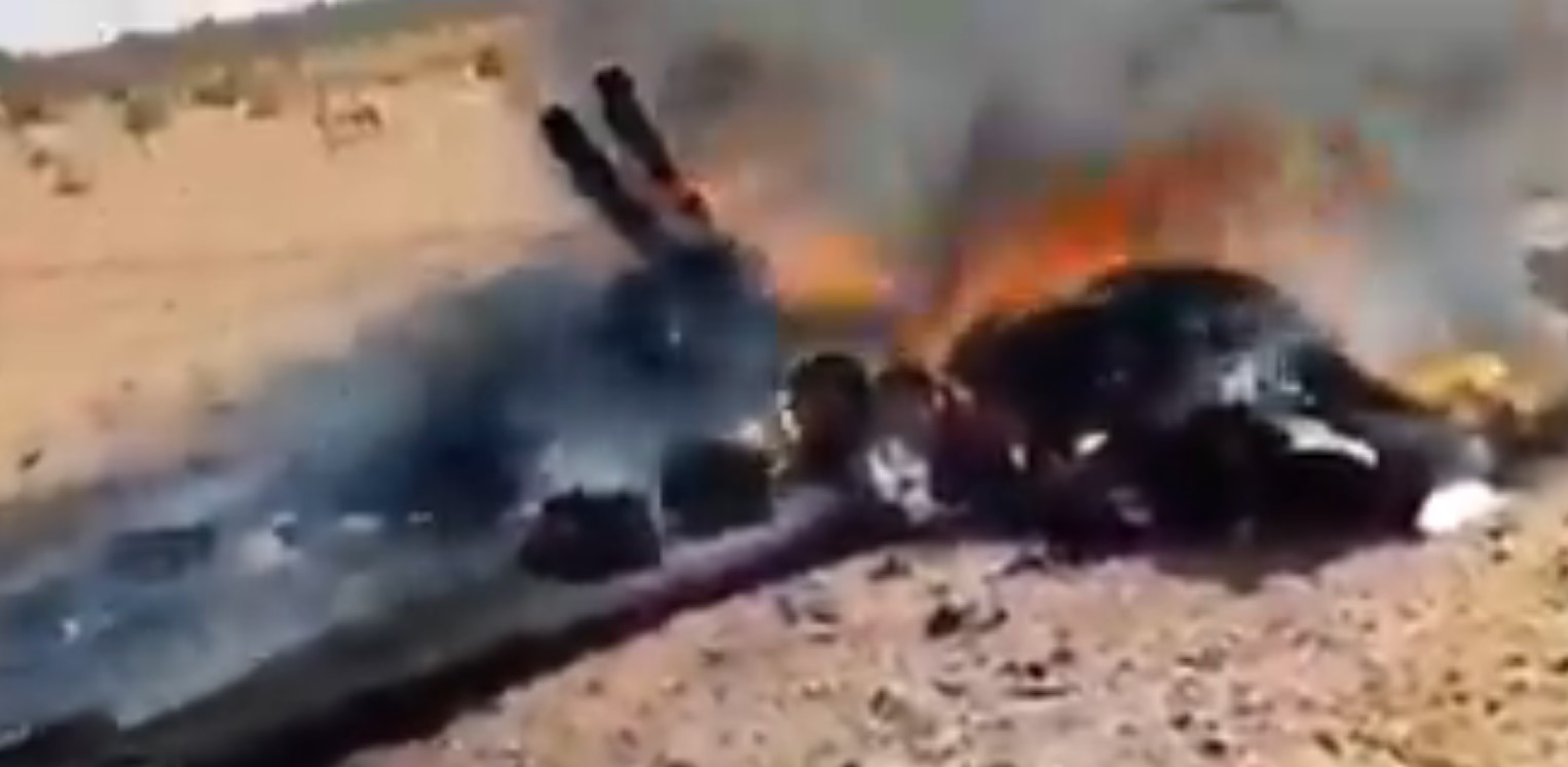 Libyan National Army Shot Down Another One Turkish Bayraktar TB2 Drone (Video)