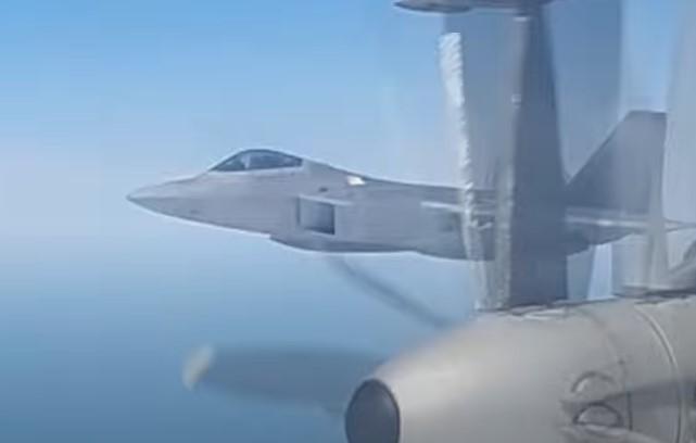In Video: U.S. F-22 Jets Intercept Russian Strategic Bombers Over Inetrnational Airspace 'Near Alaska'