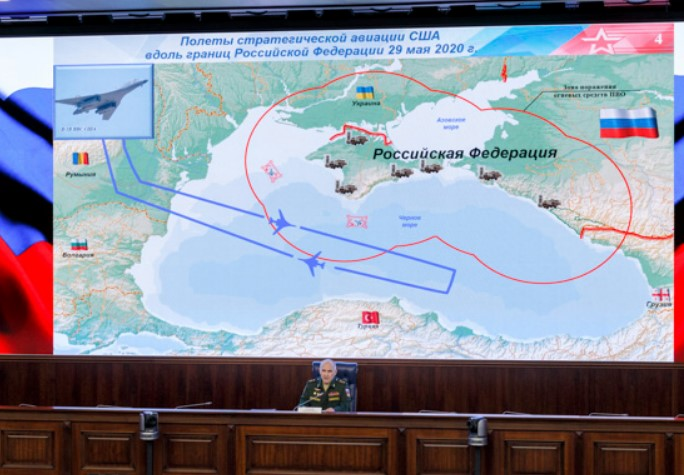 U.S. Strategic Bombers Trained Strikes On Territory Of Russia When They Were Intercepted By Fighter Jets Over Black Sea
