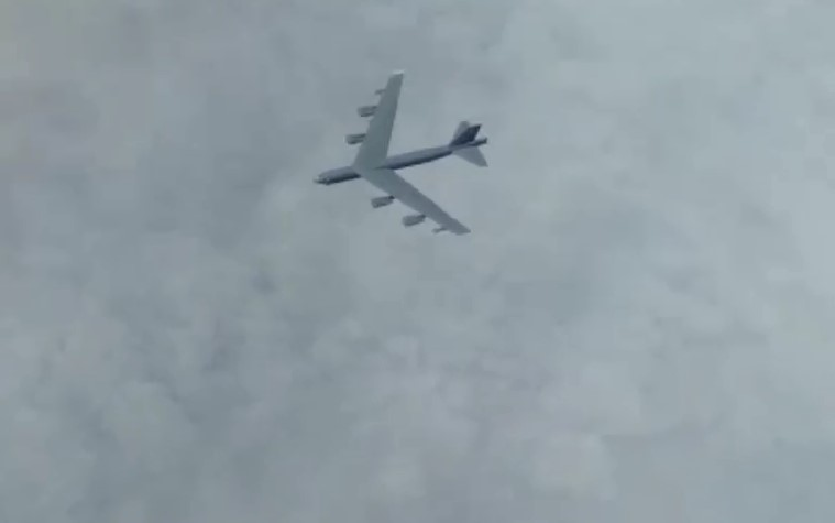 In Video: Russian Jets Intercepted US Air Force Straetgic Bombers Over Sea of Okhotsk