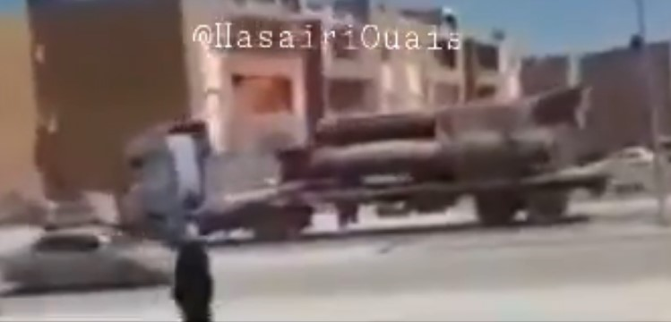 In Video: Libyan National Army Prepares Gaddafi-Era Scud Tactical Ballistic Missiles For Battle Of Sirte