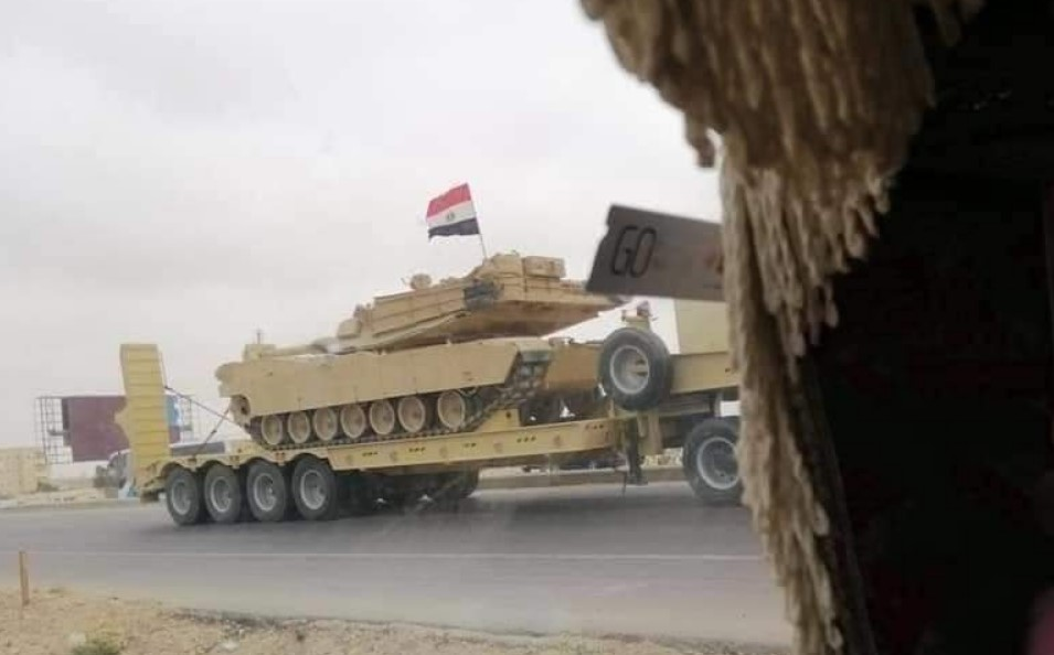 In Video: Egyptian Army Sends Massive Convoys With Battle Tanks To Libyan Border As Tensions Escalate