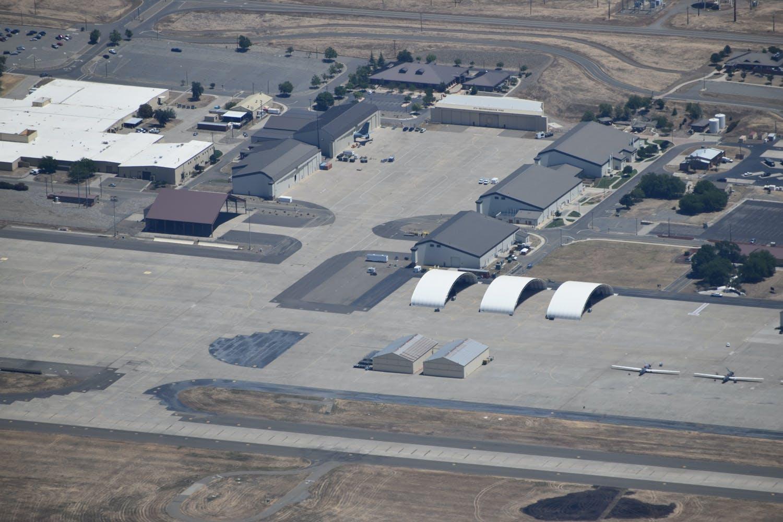 US Pilot Captures New Images Of Secretive Beale Air Force Base
