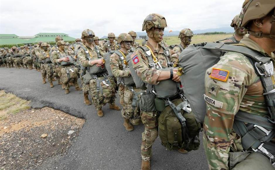 First US Troops Arrive In Colombia Pursuant To Latest Deployment