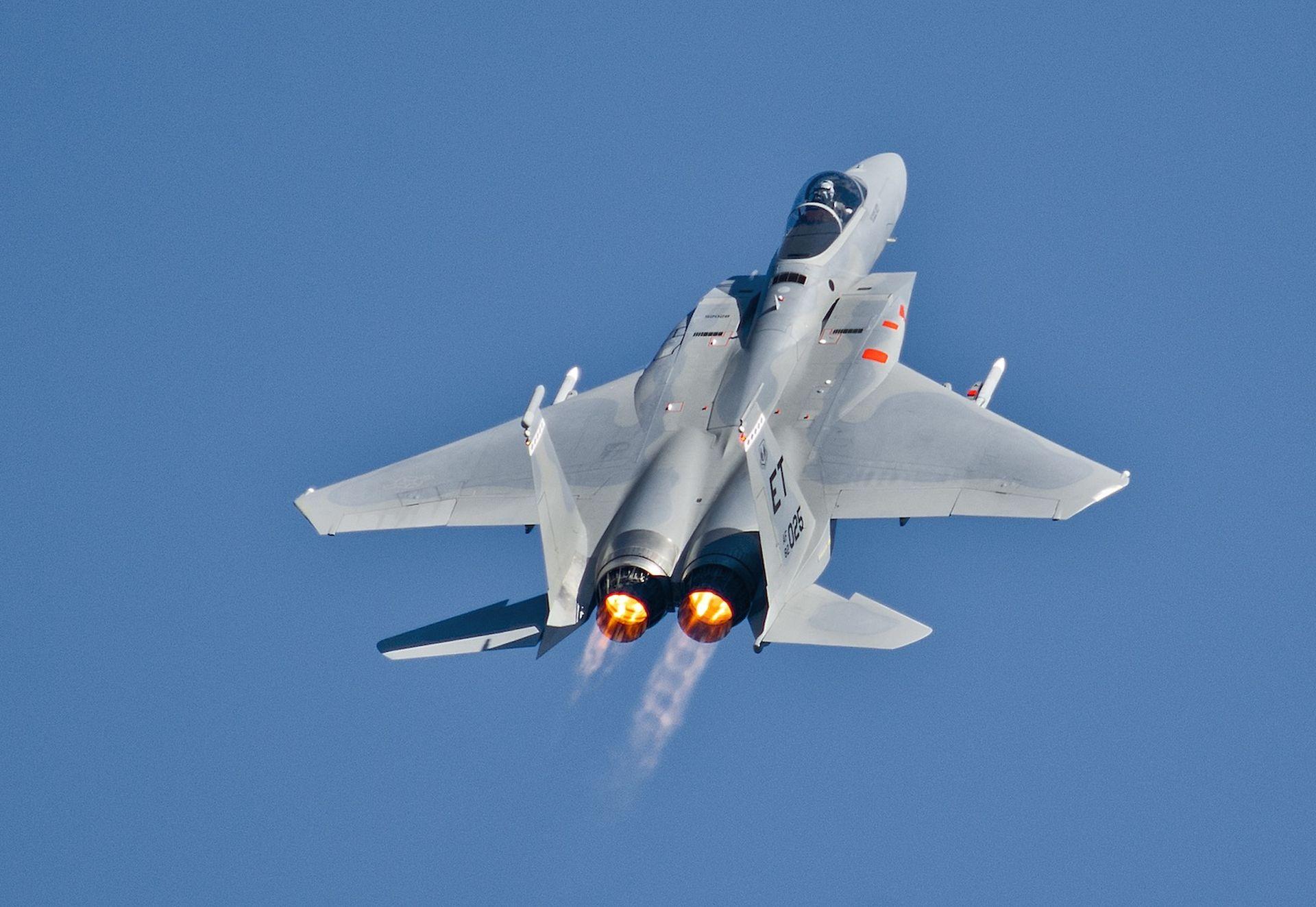 U.S. F-15C Crashed Off Coast Of England, Pilot's Body Discovered