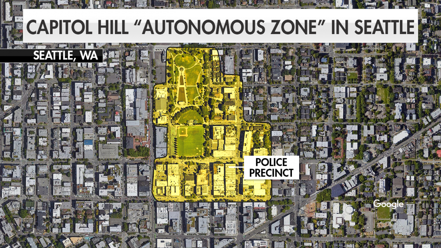 Shooting In CHOP Zone In Seattle Intensifies Competing Narratives