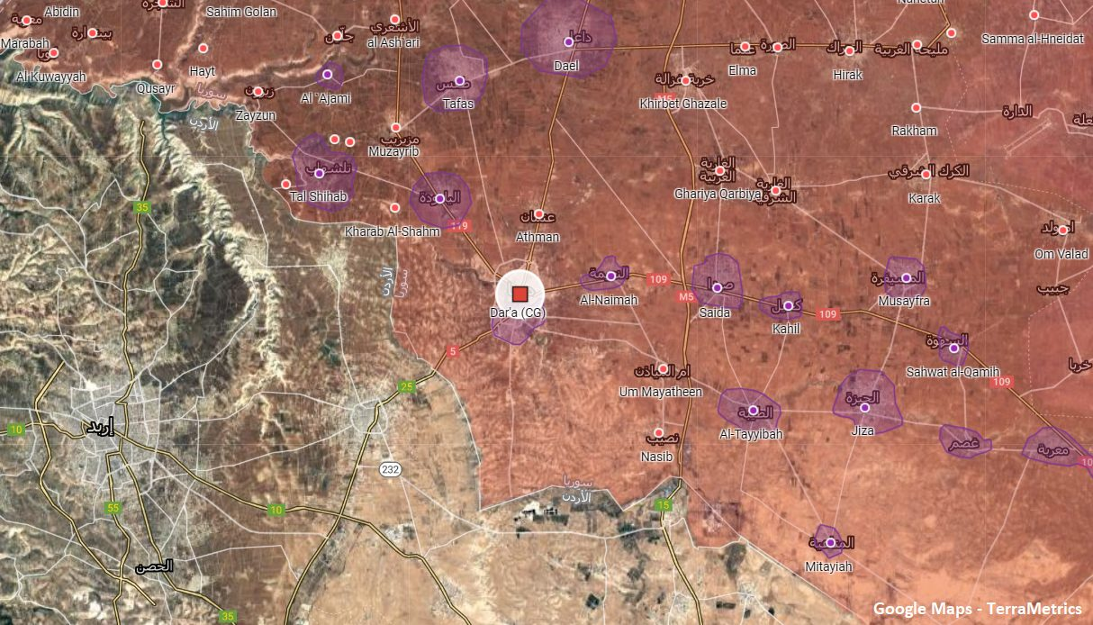 Syrian Army, Security Forces Carried Out Security Operation Near Daraa City
