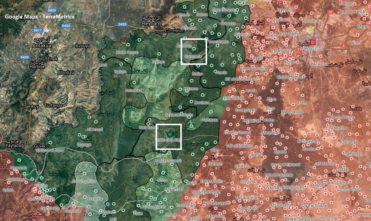 HTS Raids Ansar al-Din Headquarters In Sarmada, As Crisis With 'Fa Ithbatu' Factions Intensifies