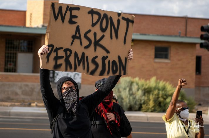 """Shooting During Protests In Albuquerque Blamed On """"Vigilante Groups"""""""
