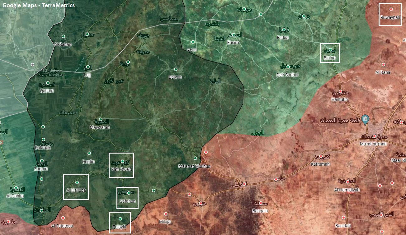 Syrian Army Launched Rocket Strikes On Six Towns In Southern Idlib