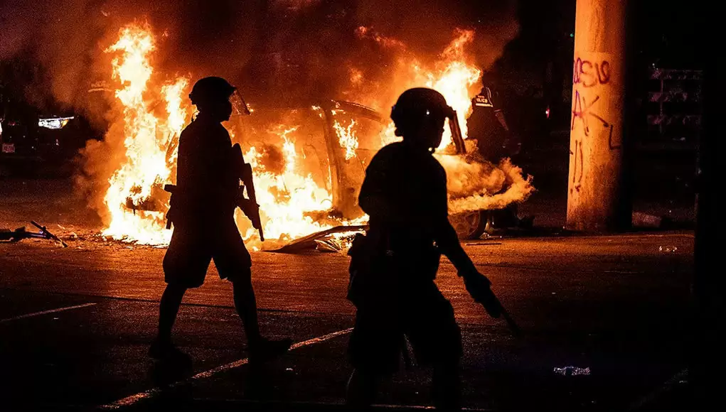 Who Trained The Increasingly Brutal U.S. Police? It Was Israel