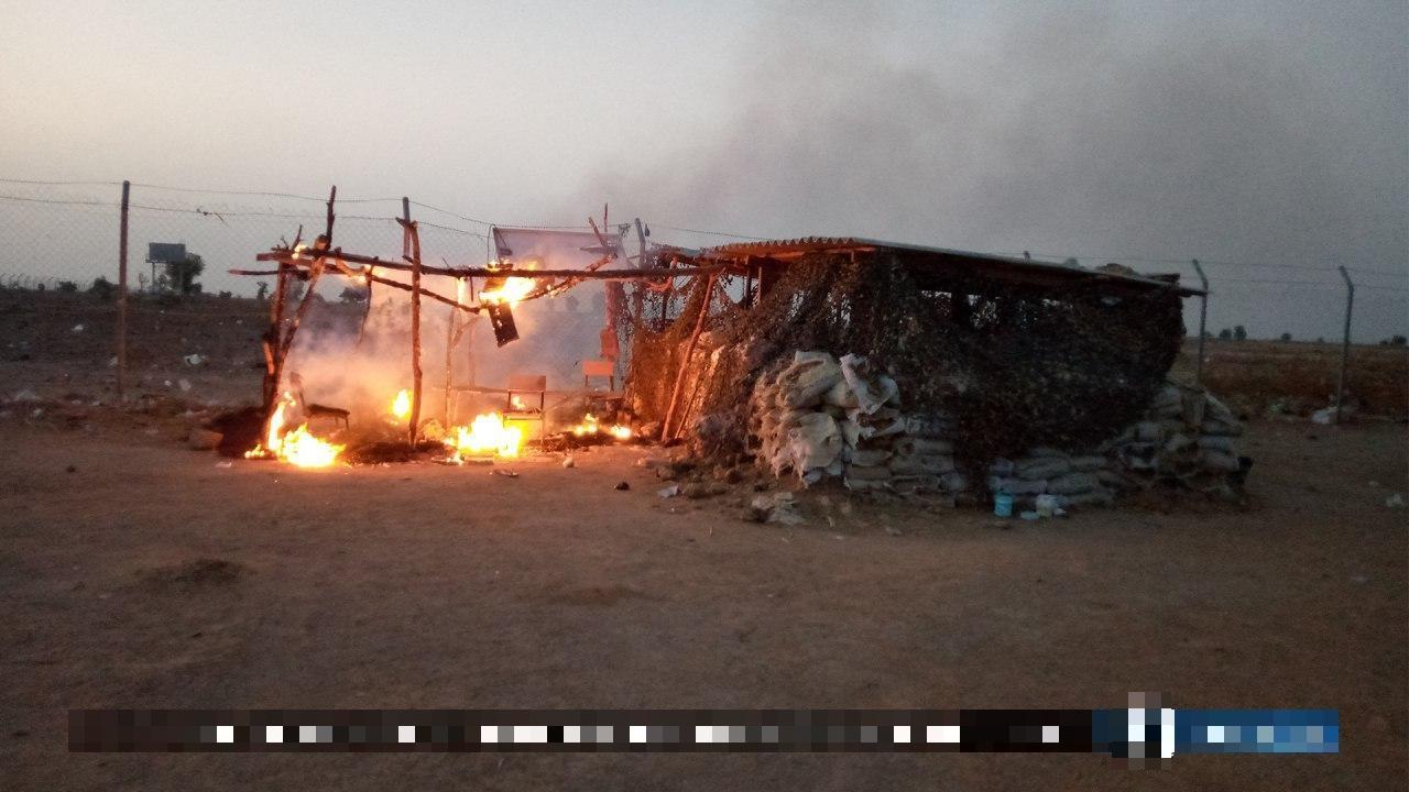ISIS Terrorists Raid Nigerian Army Position In Borno (Photos)