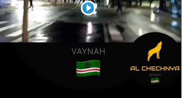 Clashes Between Chechen And Arab Gangs In France, Speeding Car Flipped Over