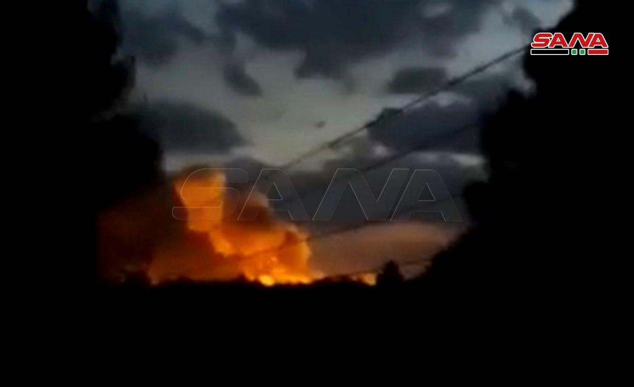 Large Explosion Rocks SDF Ammo Depot In Northeast Al-Hasakah (Videos, Photos)