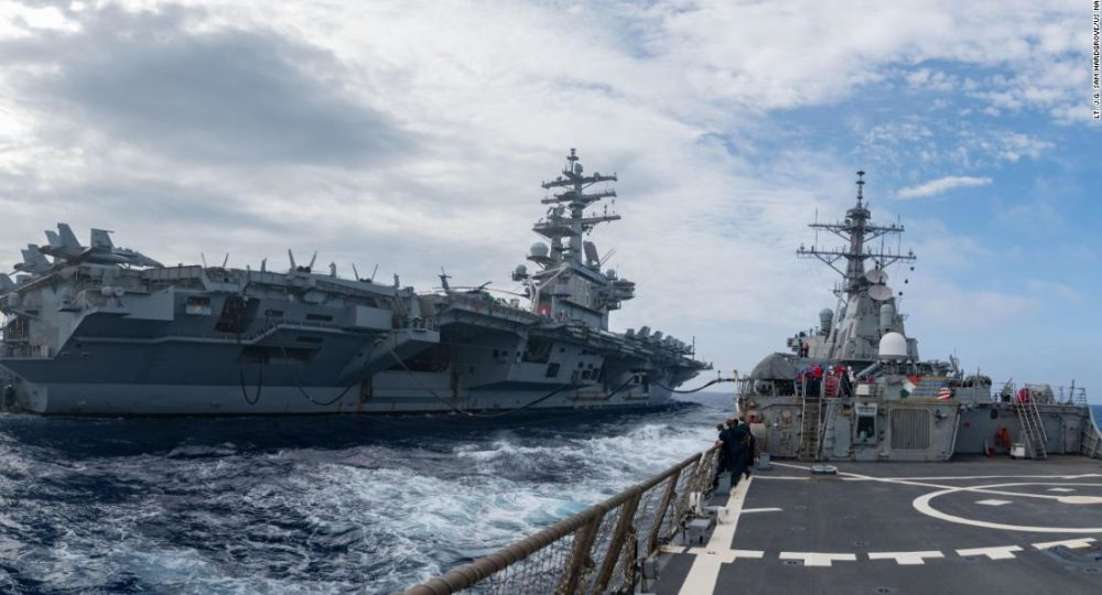 Three U.S. Aircraft Carrier Strike Groups Are Patrolling The Pacific, As China Voices Discontent