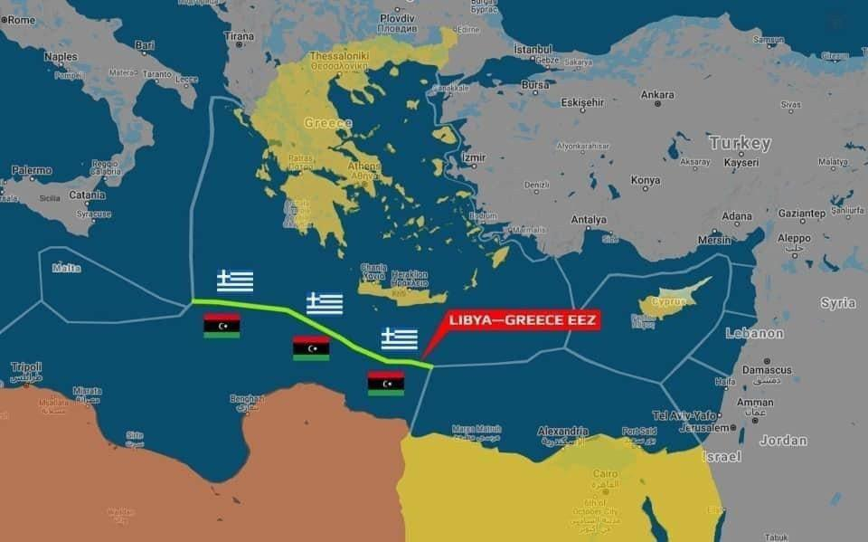 Greece Pushes Back Against Turkey's Moves In Libya, Reaches Own Maritime Agreement With East Libya's Parliament