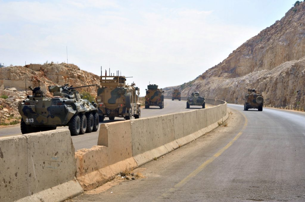 In Photos: Turkish Army, Russian Military Police Reach Jisr Al-Shughur In Another Joint Patrol