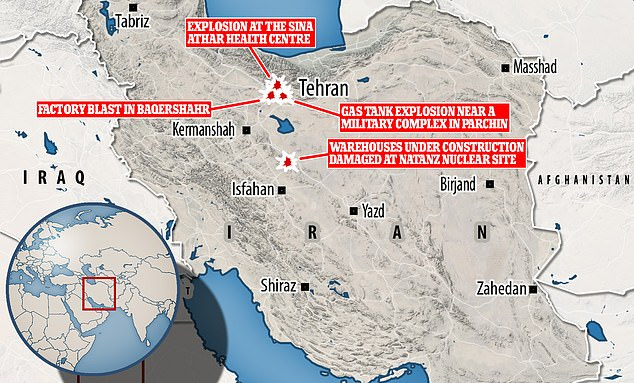 Another Deadly Explosion Hits Industrial Facility In Iran
