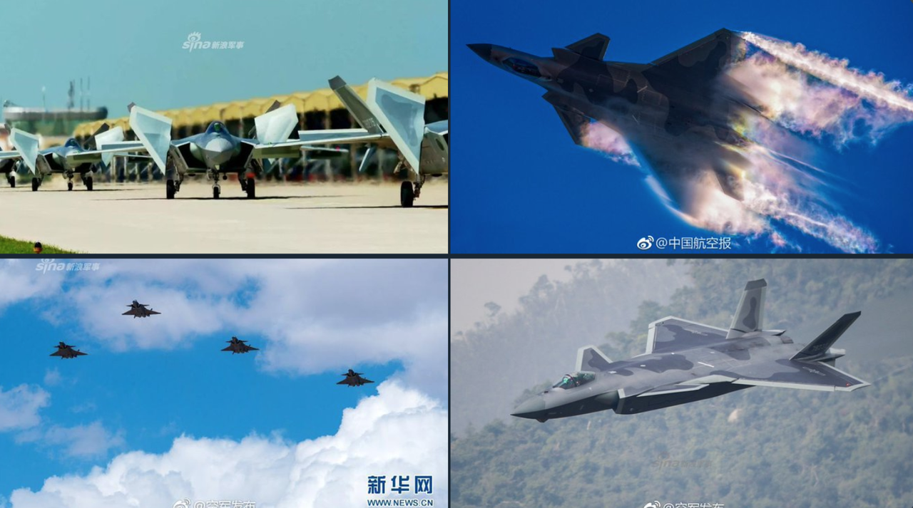 China's Stealth Jet With Thrust Vectors Enters Mass Production