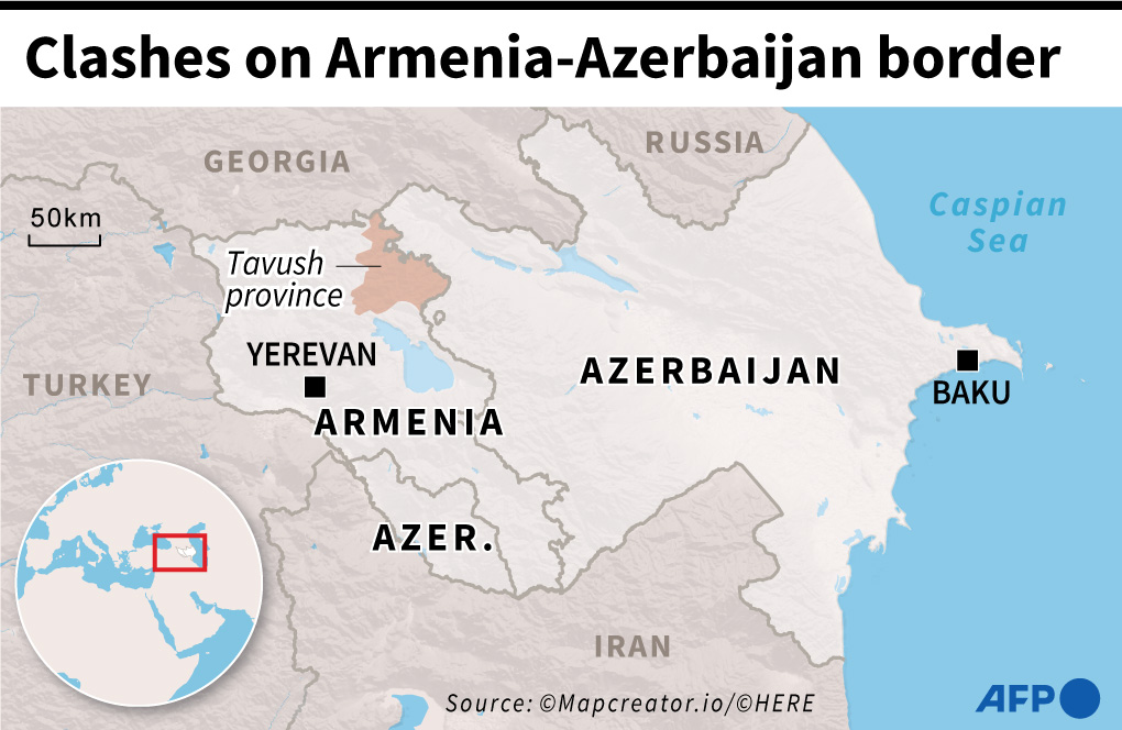 Armenian-Azerbaijani Clashes Risk To Escalate Into Regional Conflict. At Least One General Already Killed (Videos)