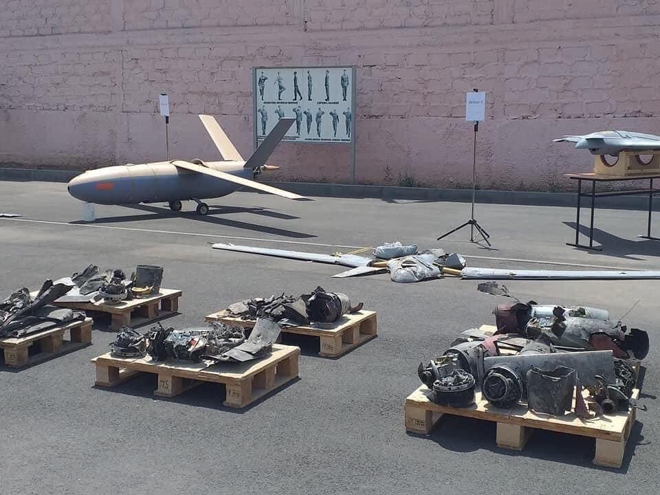 Armenia Showcases Wreckage Of Azerbaijani UAVs Used Along Border