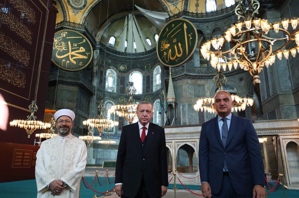 Turkish President Attends First Official Prayer At Hagia Sophia For Eight Decades (Videos)