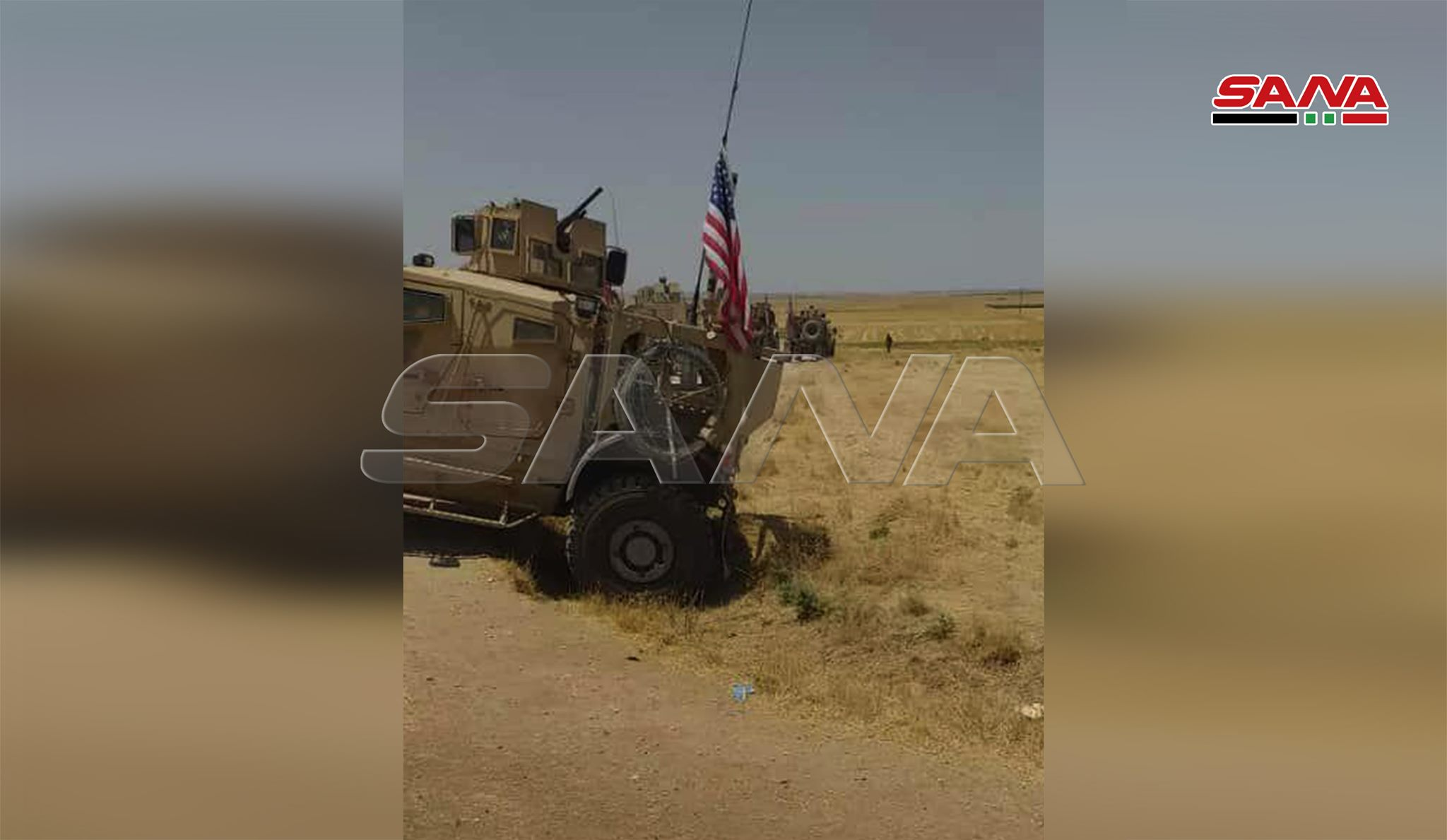 U.S. Forces Stopped At Three Syrian Army Checkpoints In Northern Al-Hasakah (Photos)