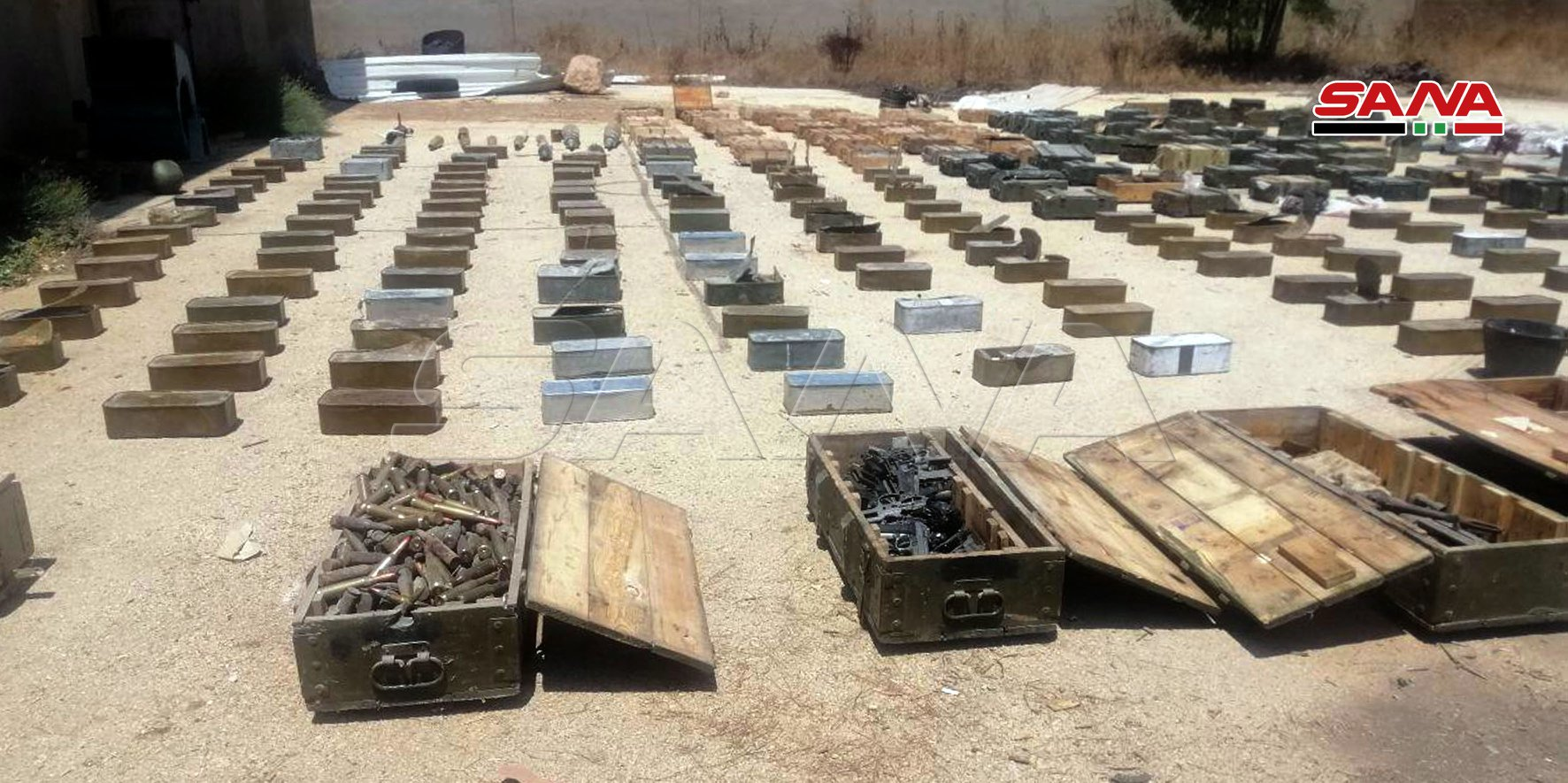 Another Arms Shipment Seized On Its Way To Greater Idlib (Photos)