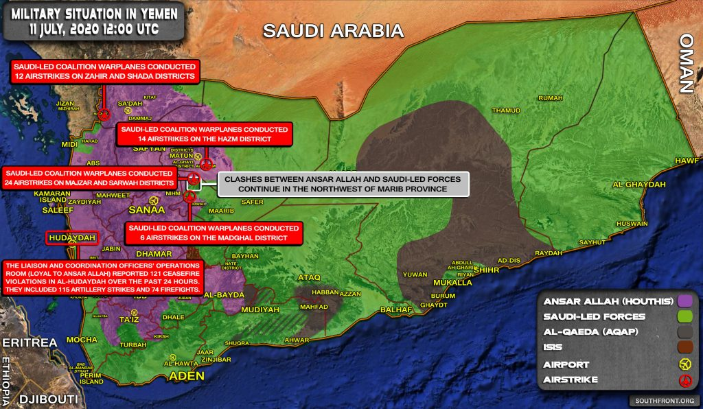 Houthis Blow Up Convoys Of Saudi-led Forces In New Dramatic Video (Map)