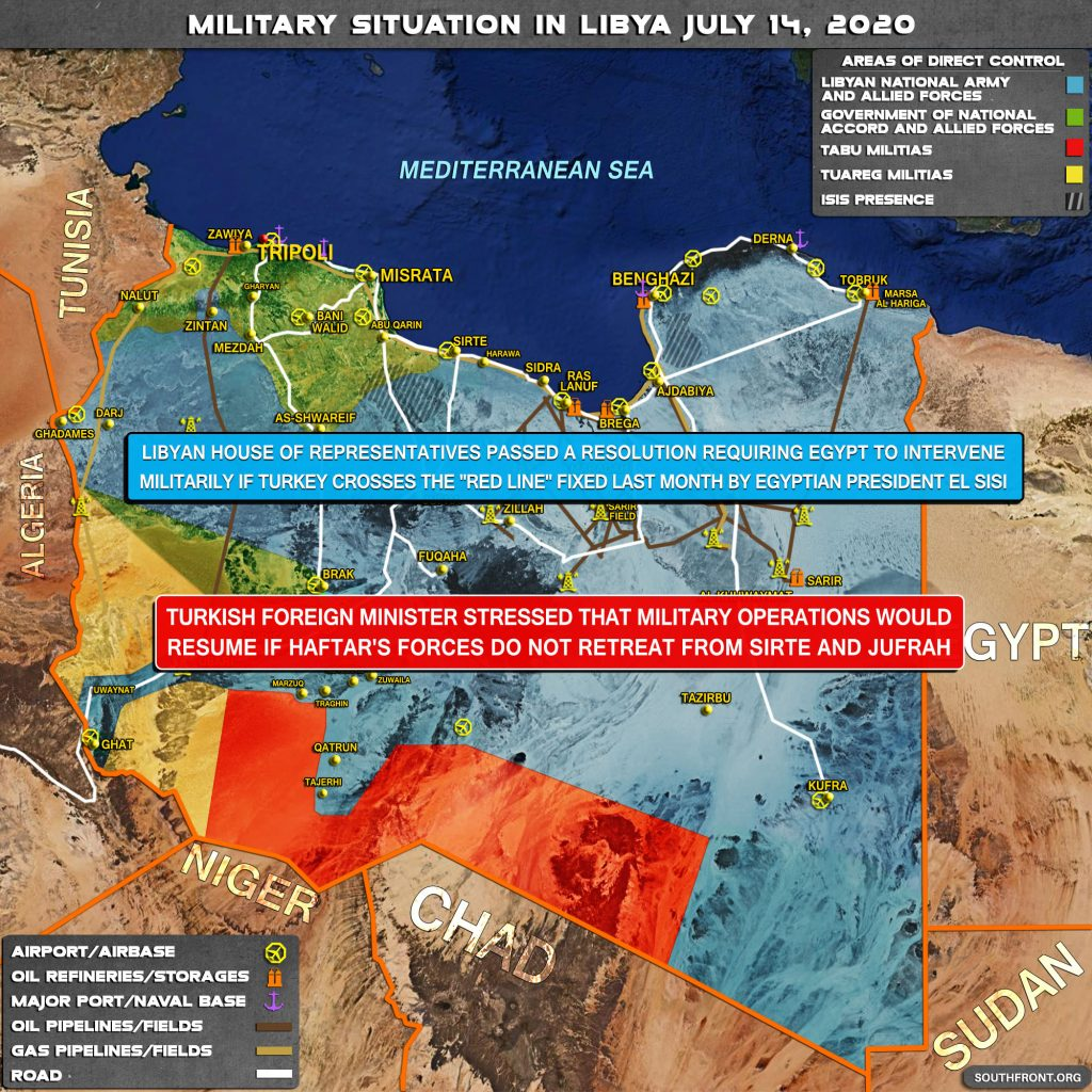 Military Situation In Libya On July 14, 2020 (Map Update)