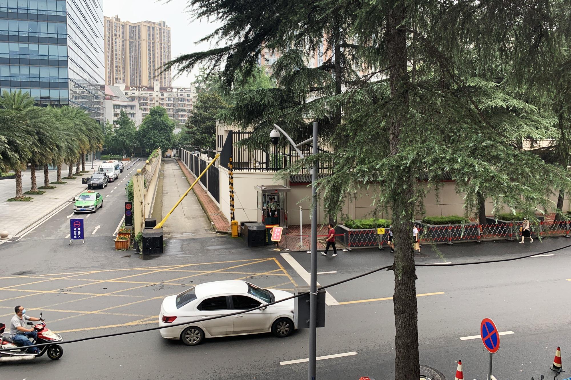 China Closes U.S. Consulate In Chengdu, After Washington Closes Beijing's Consulate In Houston